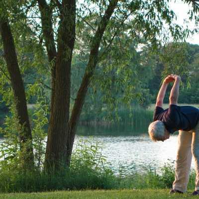 Prolongation sessions Do In, yoga japonais, en plein air aux portes de Lyon